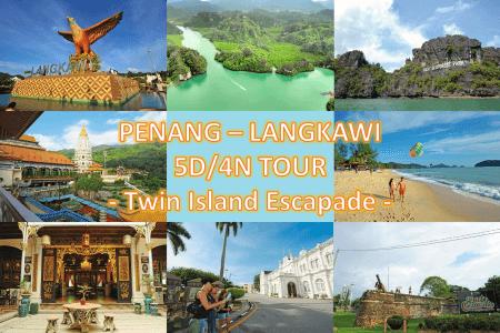 5D4N Penang Langkawi Heritage Tour