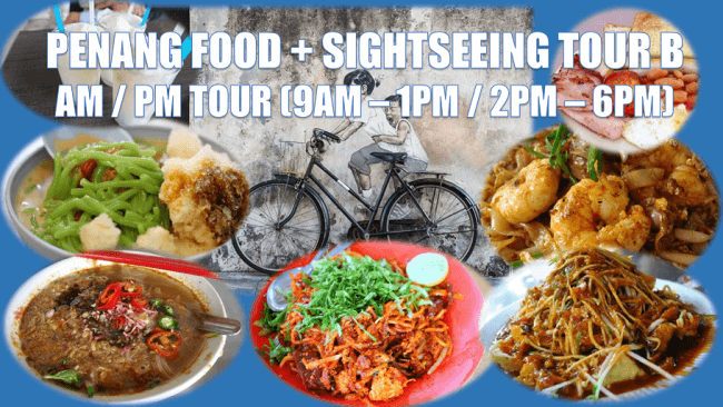 Penang Food Tour With Sightseeing