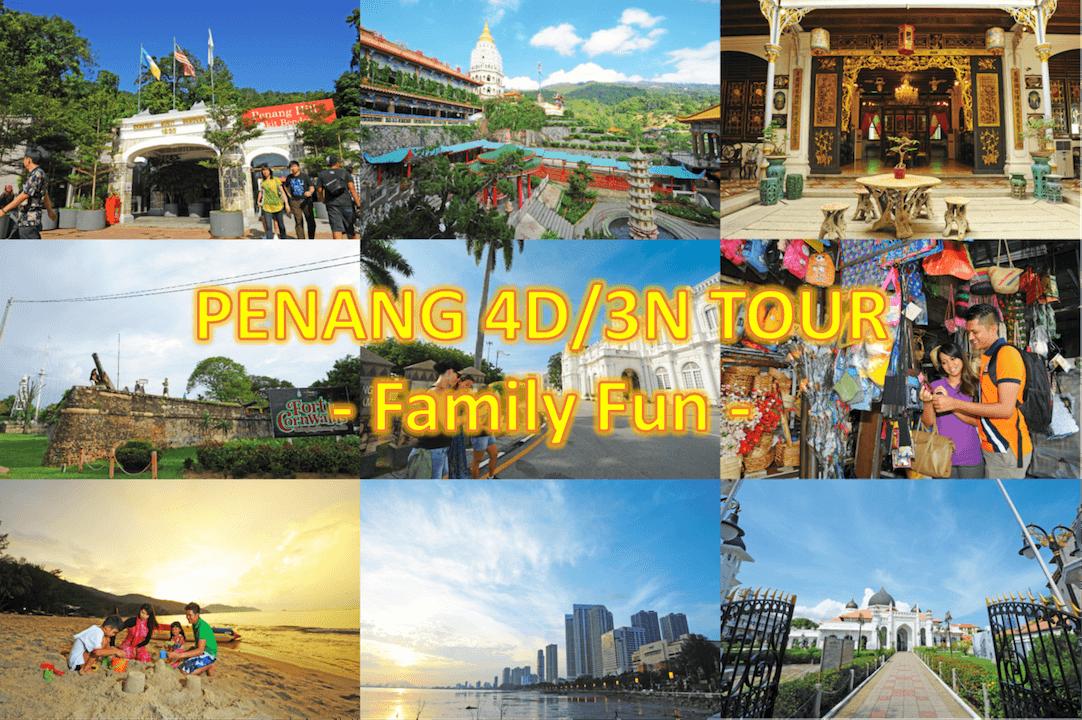 4D3N Penang Tour Package